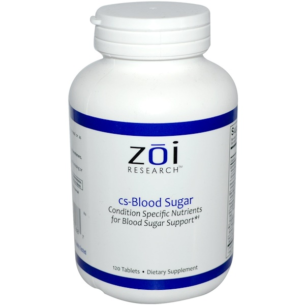 ZOI Research, Blood Sugar with Yacon, 120 Tablets (Discontinued Item)