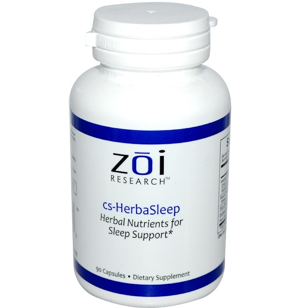 ZOI Research, HerbaSleep, 90 Capsules (Discontinued Item)