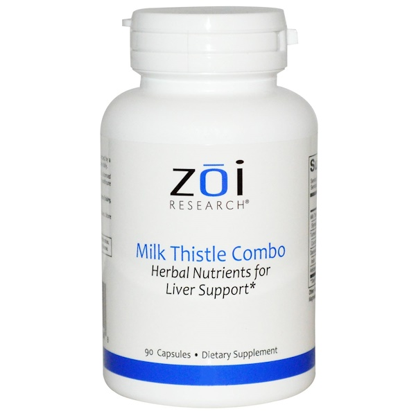 ZOI Research, Milk Thistle Combo, 90 Capsules (Discontinued Item)