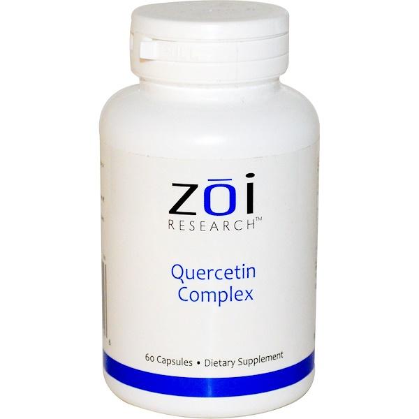 ZOI Research, Quercetin Complex, 60 Capsules (Discontinued Item)
