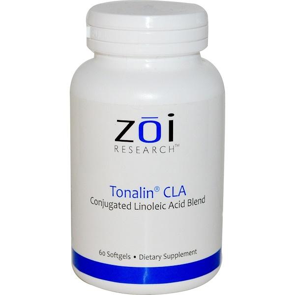 ZOI Research, Tonalin CLA, 60 Softgels (Discontinued Item)
