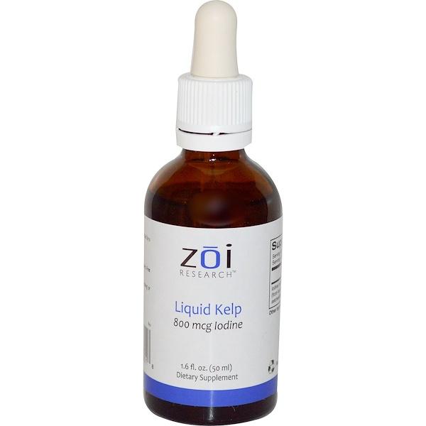 ZOI Research, Liquid Kelp, 1.6 fl oz (50 ml) (Discontinued Item)