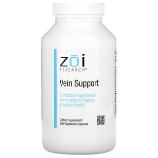 ZOI Research, Vein Support, Unterstützung der Venen, 250pflanzliche Kapseln