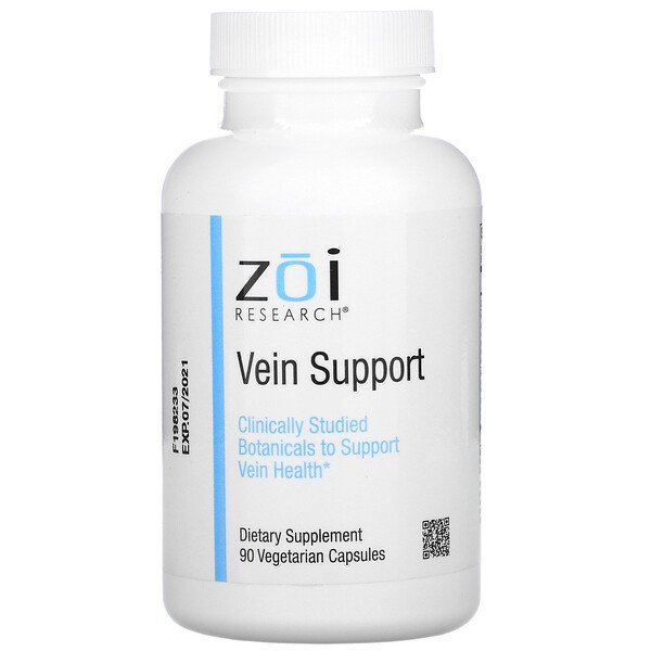ZOI Research, Vein Support, 90 Vegetarian Capsules