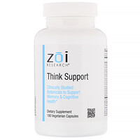 Think Support, 180 Vegetarian Capsules - фото