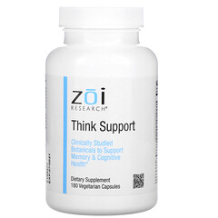 ZOI Research, Think Support,180 粒素食膠囊