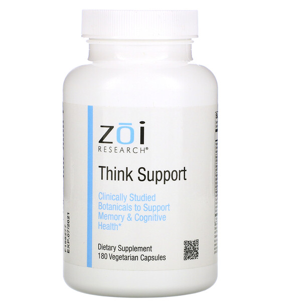 Think Support, 180 Vegetarian Capsules