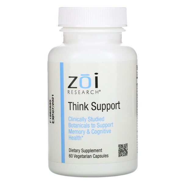 Think Support, 60 Vegetarian Capsules