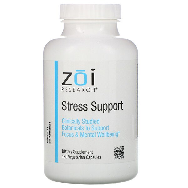 Stress Support, 180  Vegetarian Capsules