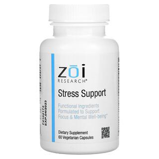 ZOI Research, Stress Support, Unterstützung bei Stress, 60vegetarische Kapseln