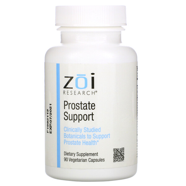 ZOI Research, Prostate Support, 90 Vegetarian Capsules