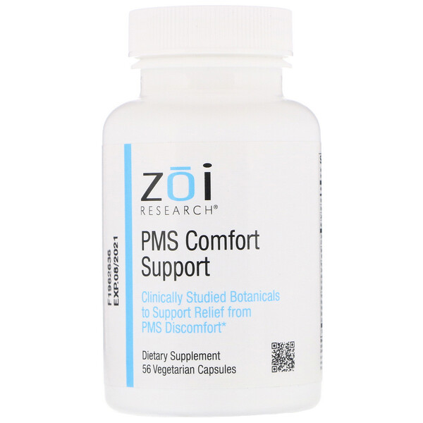 ZOI Research, PMS Comfort Support, 56 Vegetarian Capsules