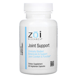 ZOI Research, Joint Support, 60 Vegetarian Capsules отзывы покупателей