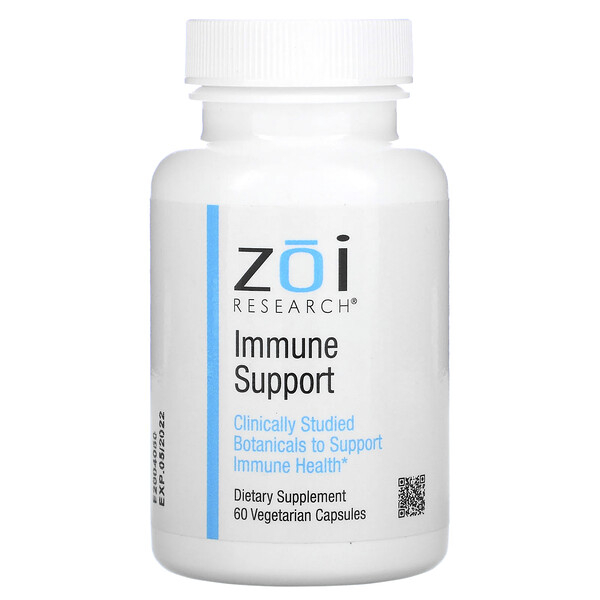 ZOI Research, Immune Support, 60 Vegetarian Capsules
