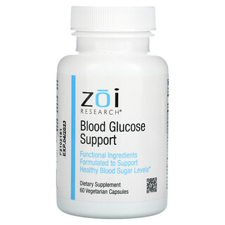 ZOI Research, Blood Glucose Support, 60 Vegetarian Capsules