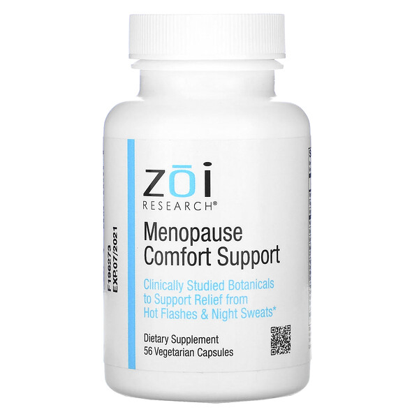 ZOI Research, Menopause Comfort Support, 56 Vegetarian Capsules