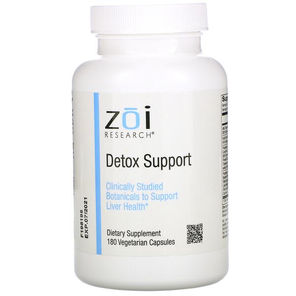 Detox Support, 180 Vegetarian Capsules