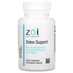 ZOI Research, Detox Support, 60CápsulasVegetarianas