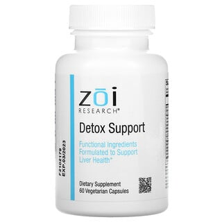 ZOI Research, Detox Support, 60 Vegetarian Capsules