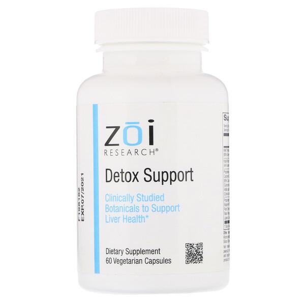 Detox Support, 60 Vegetarian Capsules