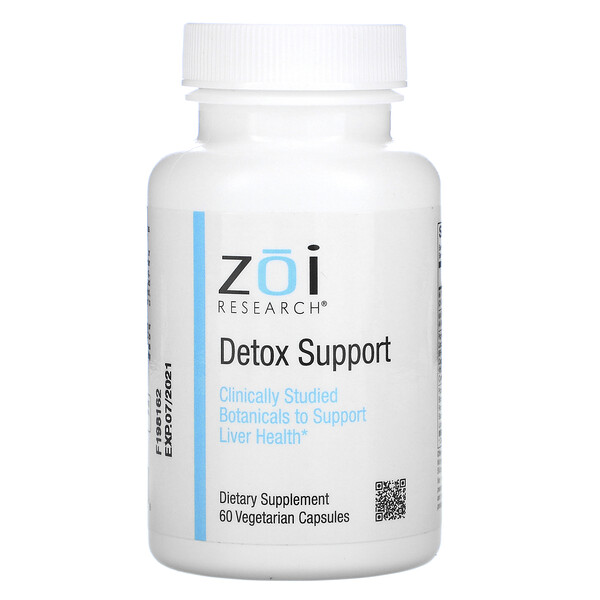 ZOI Research, Detox Support, 60 Vegetarian Capsules