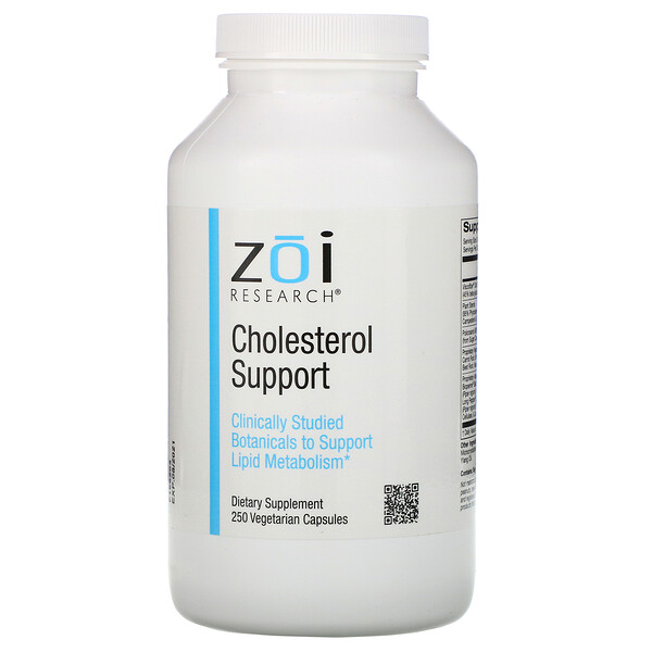 Cholesterol Support, 250 Vegetarian Capsules