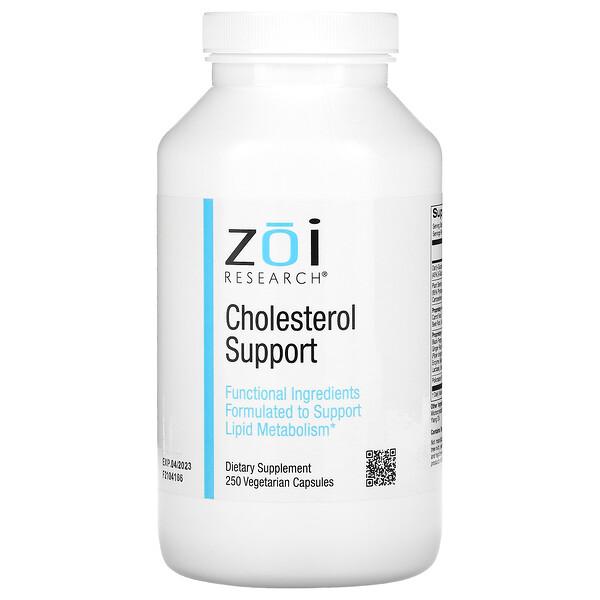 Cholesterol Support, 250 Vegetarian Capsules