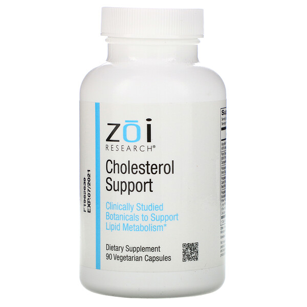 ZOI Research, Cholesterol Support, 90 Vegetarian Capsules