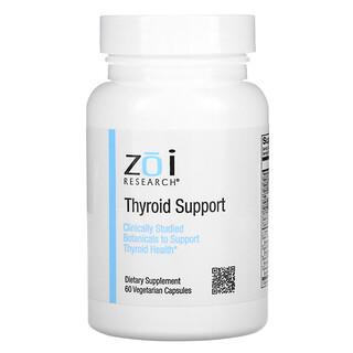 ZOI Research, Thyroid Support, Unterstützung für die Schilddrüse, 60vegetarische Kapseln