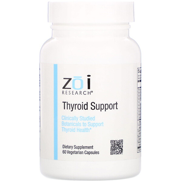 ZOI Research, Thyroid Support, 60 Vegetarian Capsules