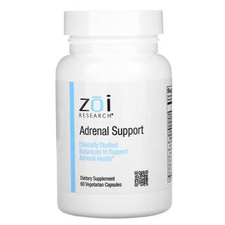ZOI Research, 副腎サポート、ベジカプセル60粒