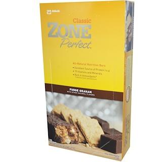 ZonePerfect, クラシック,  全天然栄養バー, ファッジグラハム, 12 本, 各1.76 オンス (50 g)