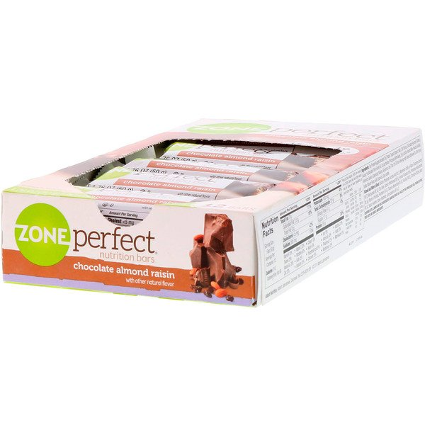 Nutrition Bars, Chocolate Almond Raisin, 12 Bars, 1.76 oz (50 g) Each