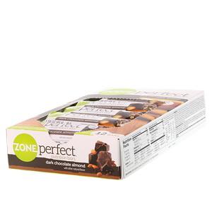 Зоун Перфект, Nutrition Bars, Dark Chocolate Almond, 12 Bars, 1.58 oz (45 g) Each отзывы покупателей