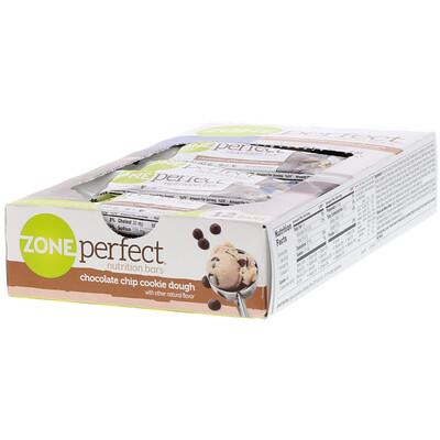 Питательные батончики, печенье с шоколадной крошкой, 12 батончиков, 1.58 унции (45 г) каждый батончики с высоким содержанием белка хрустящий брауни 10батончиков 60г 2 1унции каждый
