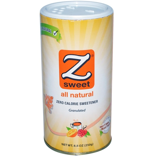 Zsweet, Zero Calorie Sweetener, Granulated, 8.8 oz (250 g) (Discontinued Item)