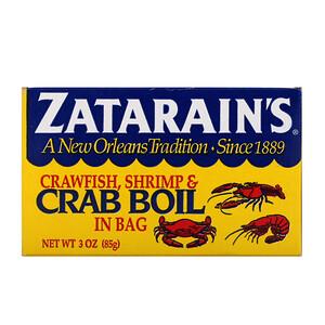Zatarain's, Crawfish, Shrimp, & Crab Boil in Bag, 3 oz (85 g) отзывы