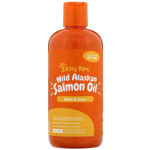Зэсти Раус, Wild Alaskan Salmon Oil for Dogs & Cats, Skin & Coat, All Ages, 16 fl oz (473 ml) отзывы