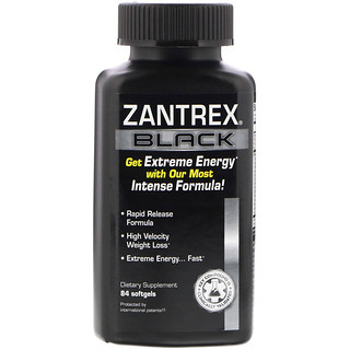 Zantrex, Black, 84 Softgels