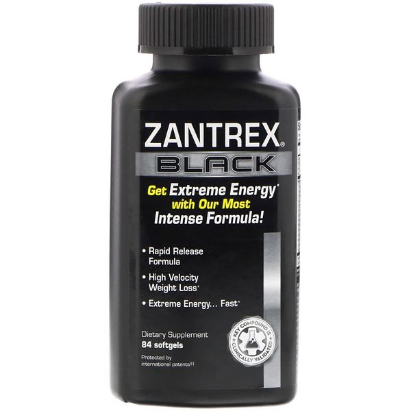 Zantrex, Black, 84 Softgels
