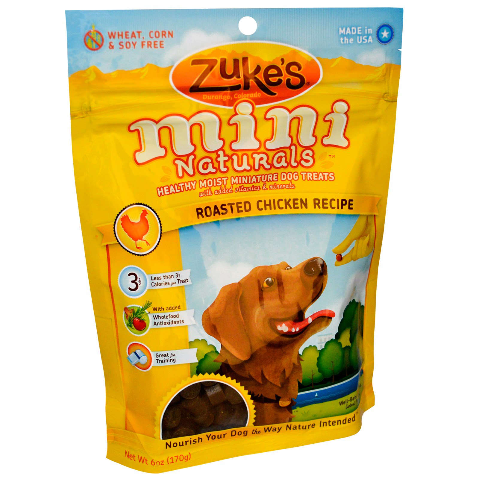 Zuke S Mini Naturals Chicken Dog Treats